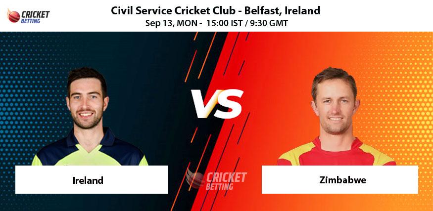 Ireland vs Zimbabwe 3rd ODI Prediction Match