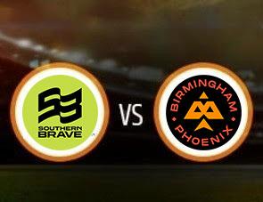Southern Brave vs Birmingham Phoenix The Hundred Match Prediction