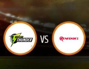Sydney Thunder Women vs Melbourne Renegades Women WBBL T20 Match Prediction