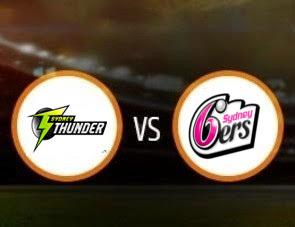 Sydney Thunder Women vs Sydney Sixers Women WBBL T20 Match Prediction