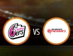Sydney Sixers Women vs Melbourne Renegades Women WBBL T20 Match Prediction