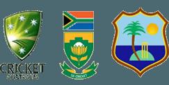 AUS, SA in WI Tri-Series, 2016