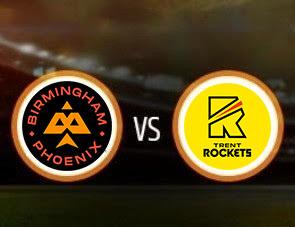 Birmingham Phoenix vs Trent Rockets The Hundred Match Prediction