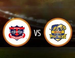 IDream Tiruppur Tamizhans vs Madurai Panthers TNPL Match Prediction
