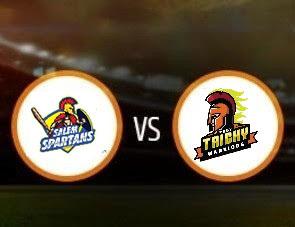 Salem Spartans vs Ruby Trichy Warriors TNPL Match Prediction